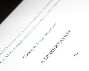 Dissertation II